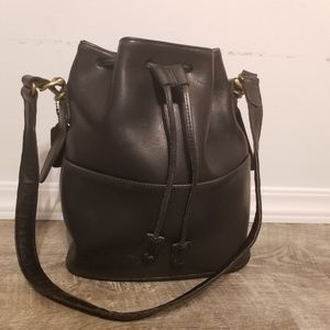 Coach Drawstring Bucket Bag - Soft Smooth Leather